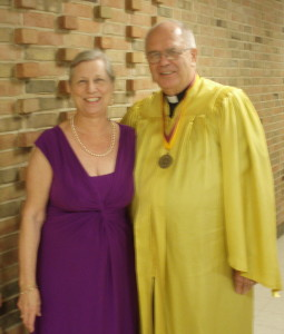 Pictured are Pastor and Mrs. (Evelyn) Baisch.