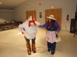 Best Couple: Mike & Denise Fields Farmer & Rooster