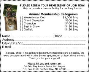APL Membership form