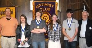 optimist Oratory Awards