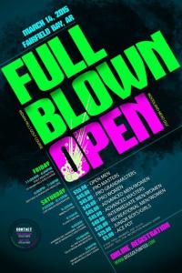 Full Blown Open Flyer #2