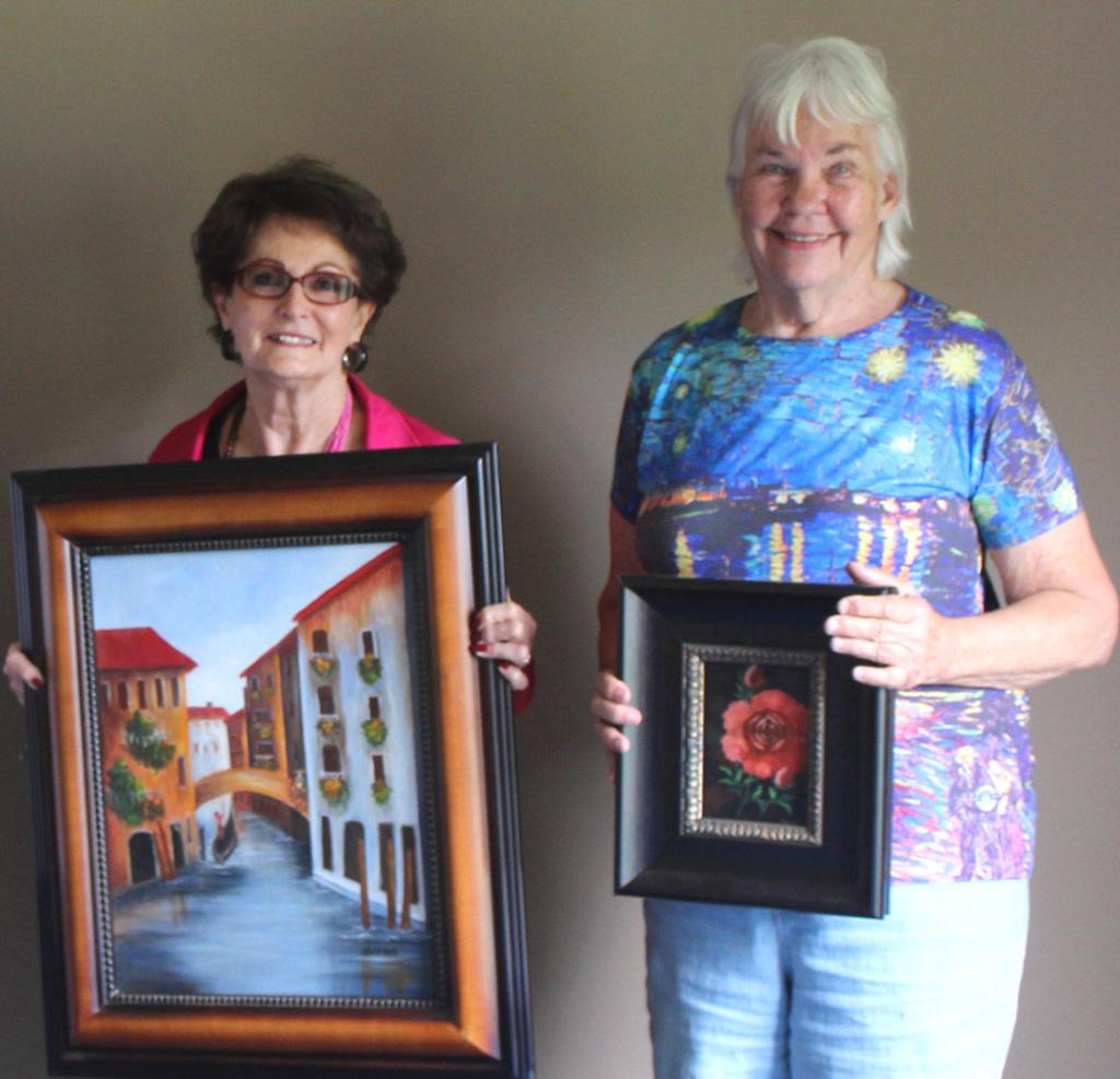 Doris Sexson and Joyce Hartmann