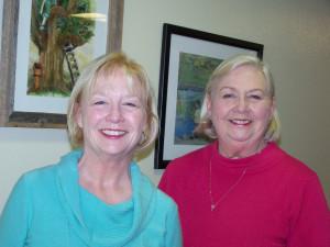 Jan Cobb & Julie Caswell photo