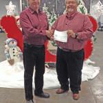 Shirley Receives Exxon/Mobile Grant