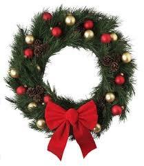 Wreath Raffle Art