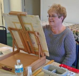 Ellen Painting  2016