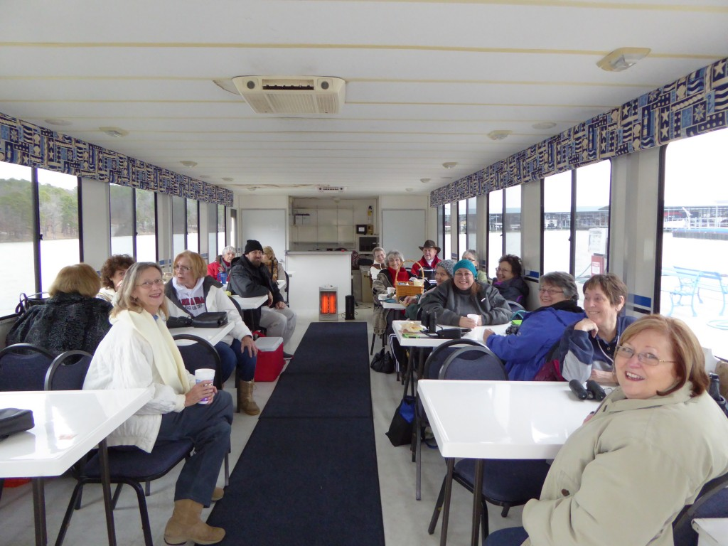 Greers Ferry Lake Eagle Tour