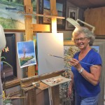 April Featured Artist, Rebecca Loftis