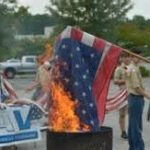 Flag Day Burning Ceremony
