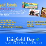August Conference Center Events