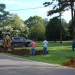 Sewer Extension Ahead of Schedule