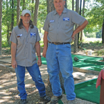Work Continues on Classic Mini Golf Course