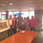 Realtors Sign Exclusive Agreement for Osage Point Luxury Townhouse