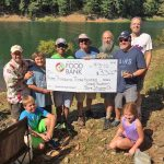 Stone Skipping Raises Money for Food Bank