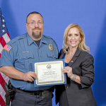 Arkansas Attorney General Recognizes Fairfield Bay Officer Donald Crispell