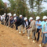 Osage Point Groundbreaking  Makes Fairfield Bay Future Bright