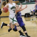 Smith, lady Eagles Torch Shirley