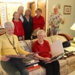 """""""Treasure Chest"""" Artist League Program at  Bonnie Hookman's Home"""