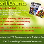 Conference Center Events in April