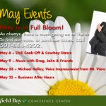 Conference Center Events in May
