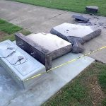 Driver Destroys Ten Commandments Monument at Capitol