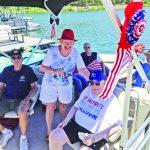 Marina Staff Honors Air Force Veteran For His 84th Birthday