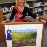 Fairfield Bay Artist, Charlotte Rierson Wins the Conway Artist League's Fall Shows highest honor- Best of Show.