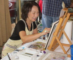 Artist League Host Free Painting Demonstration