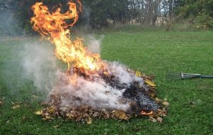 Open Burning Rules in Fairfield Bay